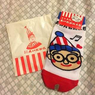 大阪名物 食倒太郎Q版襪