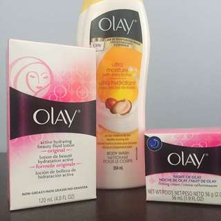 3 Set Of Olay Product