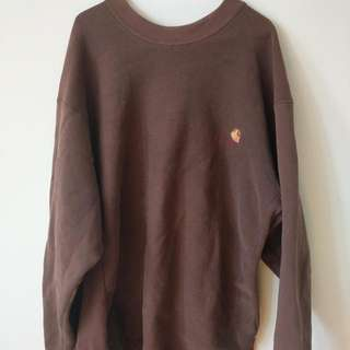 Carhartt Crewneck Brown Men's XL