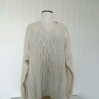 Joe Fresh Oversized Cableknit Sweater