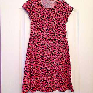 Cotton Dress Size M 7-8 Years