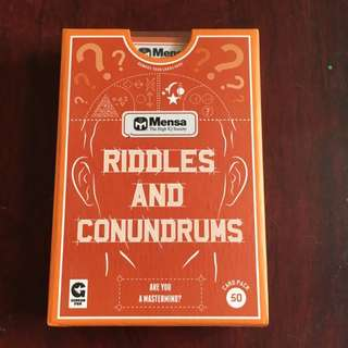 Riddles And Conundrums