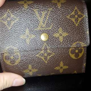 Real LOUIS VUITTON WALLET
