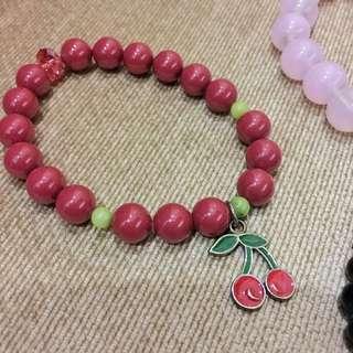 Hanaru Park Cherry Bracelet