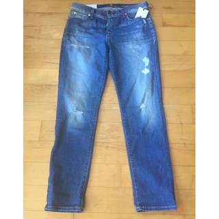 7 For All Mankind - Josefina Boyfriend jeans size 27, NWT