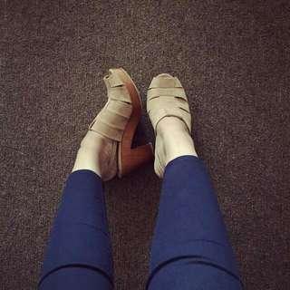 Heels Clogs Retailthrpy Mocha Size 37