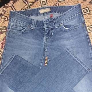 Guess Daredevil Skinny Leg jeans