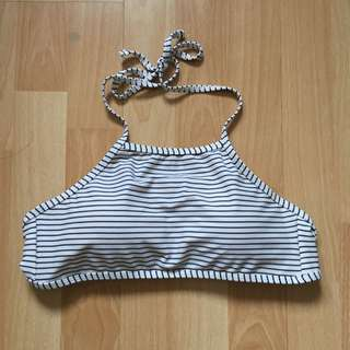 New Cotton on Body Stripe Crop Sports/ Bikini