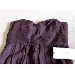 JCrew Taryn Silk chiffon dress NWT
