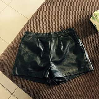 Supre Leather Shorts Size M
