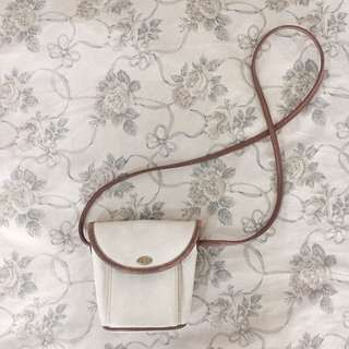 Off White Colored Purse