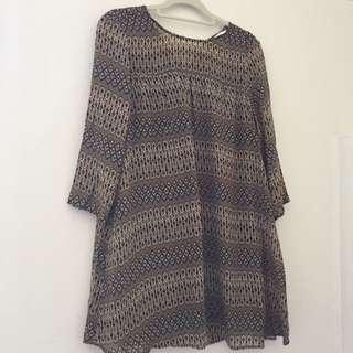 Aztec Patten Dress
