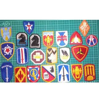 US ARMY MILITARY PATCHES