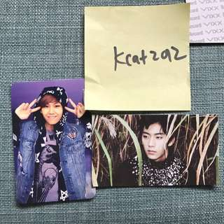 WTS BTOB B1A4 Photocards Official