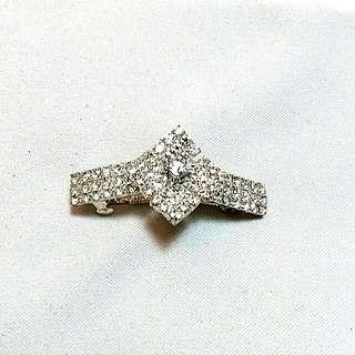 Bridal/Prom Crystal Hair Clip