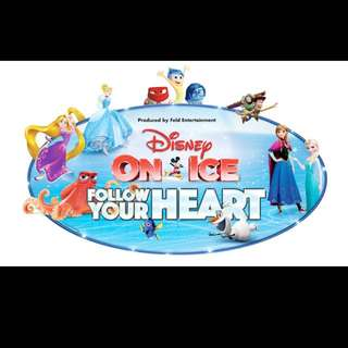 Disney On Ice Follow Your Heart - 2 Tickets @ Budweiser Gardens Sun Mar 5th @5pm