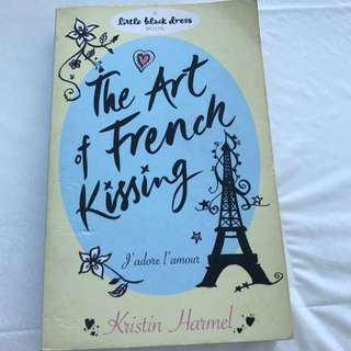Little Black Dress Series - The Art Of French Kissing By Kristin Harmel
