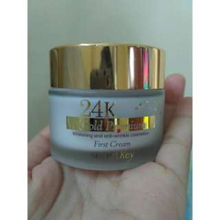 secret key 24k gold premium first cream