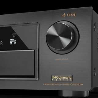 Denon AV Receiver AVR-X6300H (Black)