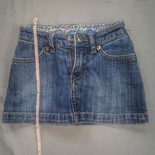 Mini skirt for 1-3 years old