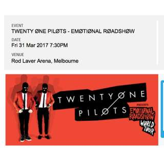 Twenty One Pilot Melbourne Concert