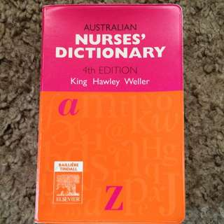 Nurses Dictionary