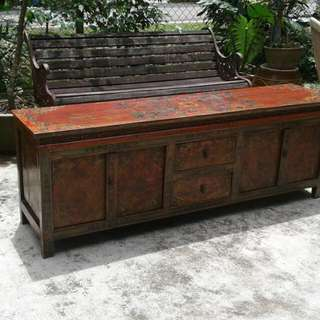 Antique Tibetan Sideboard ( Personal Collection)