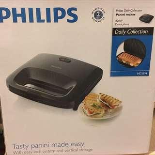 new philips sandwich maker