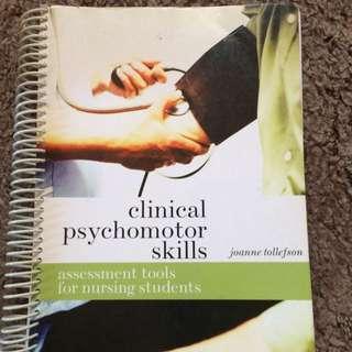 Clinical Paychomotor Skills