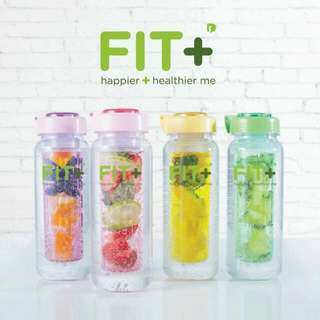Fit+ Infused Bottle Set of 4