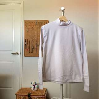 Long Sleeved White Shirt