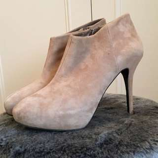 Zara Camel Ankle Boots