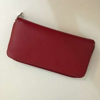 NO BRAND Red Wallet