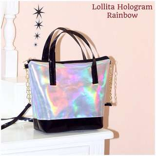 (NEW) Hologram Sling Bag