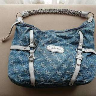 Denim GUESS Handbag