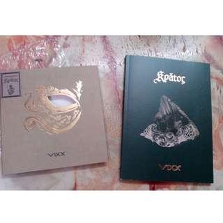 VIXX unsealed album kratos