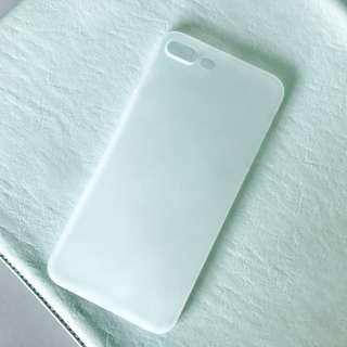 iPhone 7plus半透明磨沙殼