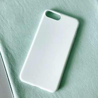 iPhone 7plus Case 珍珠白手機軟套