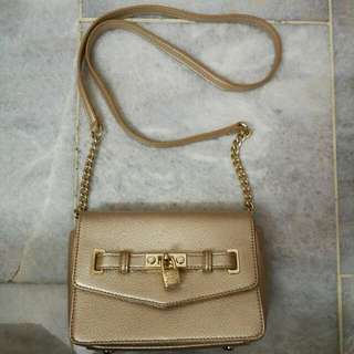 Lyn Gold Sling Bag