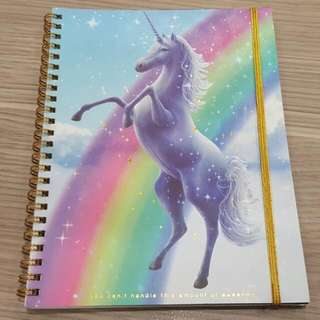 BN Rainbow Unicorn Notebook