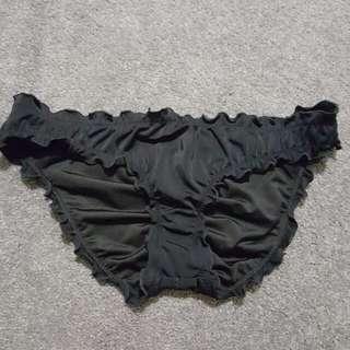 BRAND NEW Victoria's Secret Bikini Bottoms - SIZE SMALL - Black