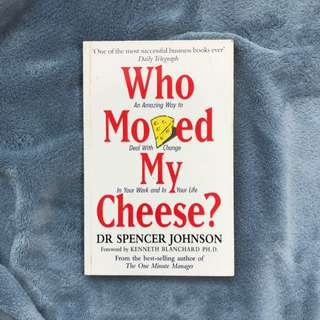 📖[免運]原文書 誰搬走我的乳酪? #我有課本要賣