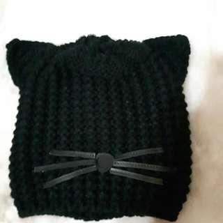 🚚 貓咪毛帽