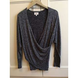 Seed Wrap Top Textured Size XS