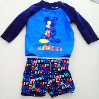 Disney Swim Set