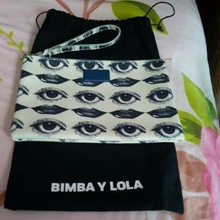 Like New Authentic  Bimba Y Lola Wristlet