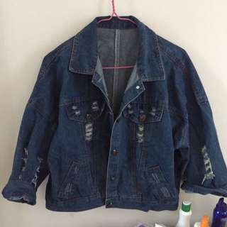 Korean Oversized Denim Jacket