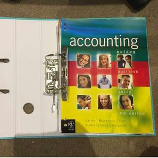 Accounting: Building Business Skills, 4th Australian edition - University of Sydney (ACCT1006)