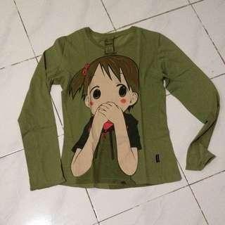 Kaos / T-shirt Cute Green