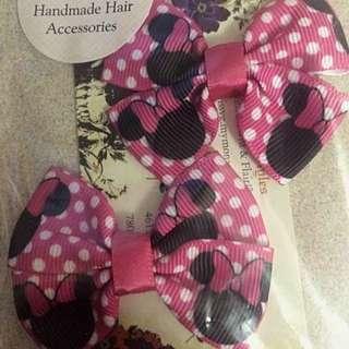 Minnie Mouse Mini Bow Set